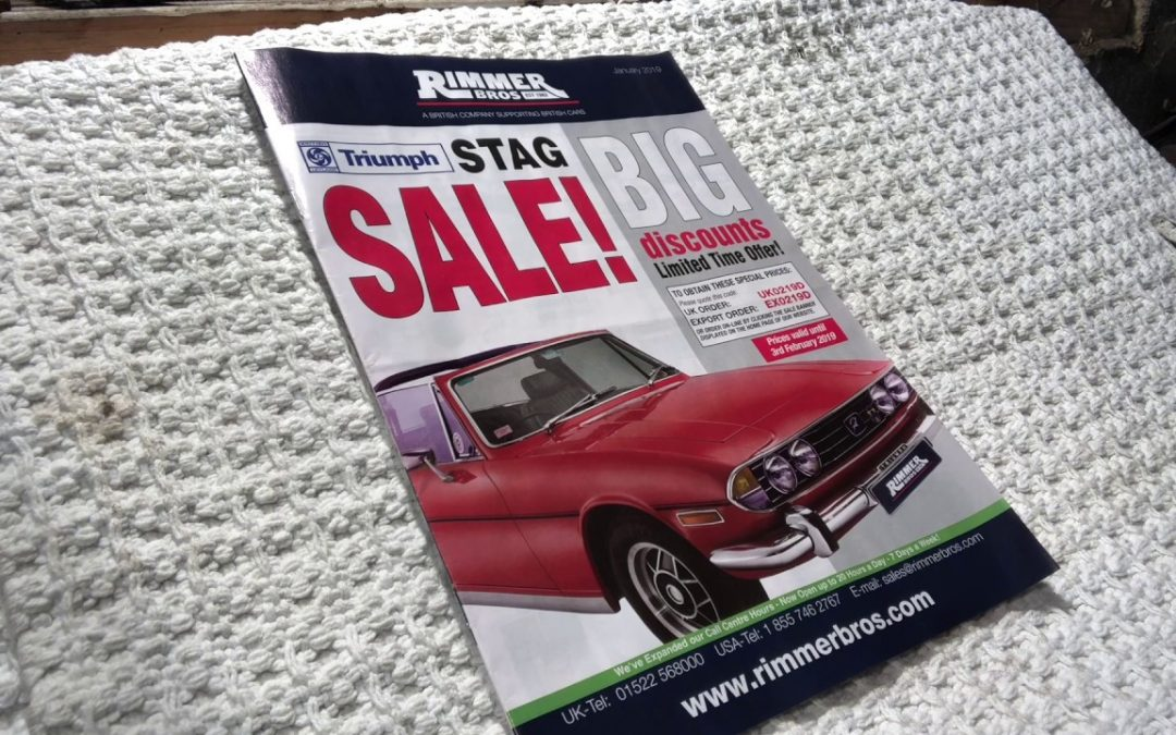 Triumph Stag – Top Tools Purchase 2