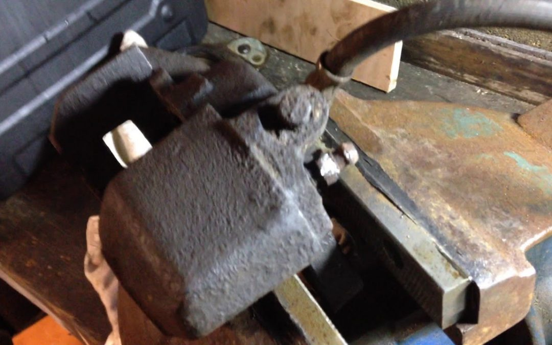 Triumph Stag – Brake Calipers – Part 4