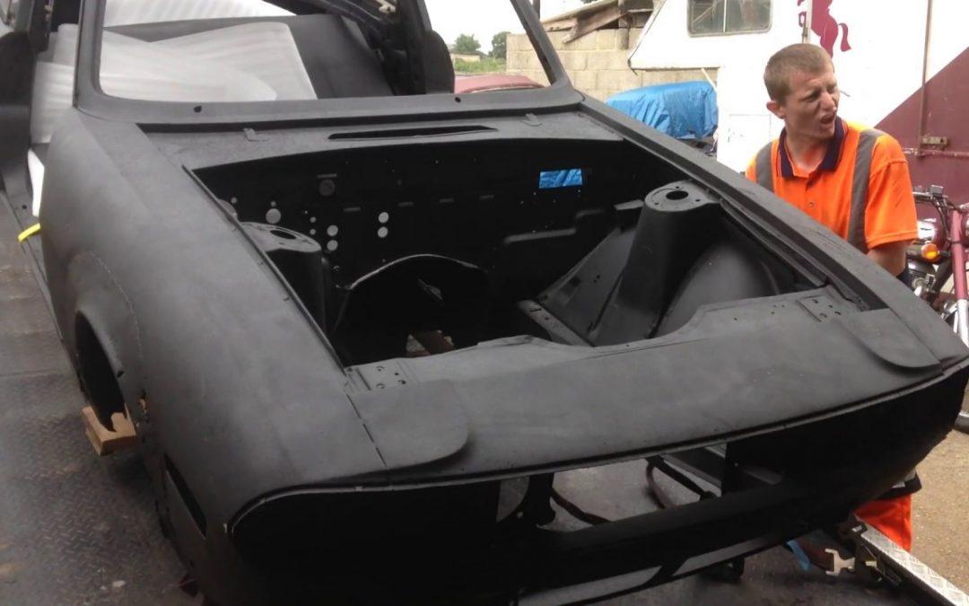 Triumph Stag – Breaking Down Part Nine – Meet Alan the Welder