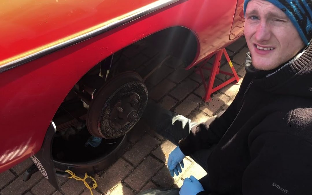 Triumph Stag – MG BGT Support Vehicle – Part 11