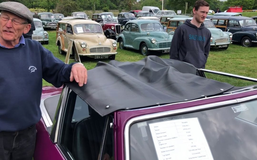 'Arry The Stag! Sees Barry's Stag at The Beaulieu Auto Jumble