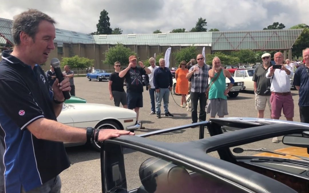 David's Stag at SOC National Day – Beaulieu Motor Museum