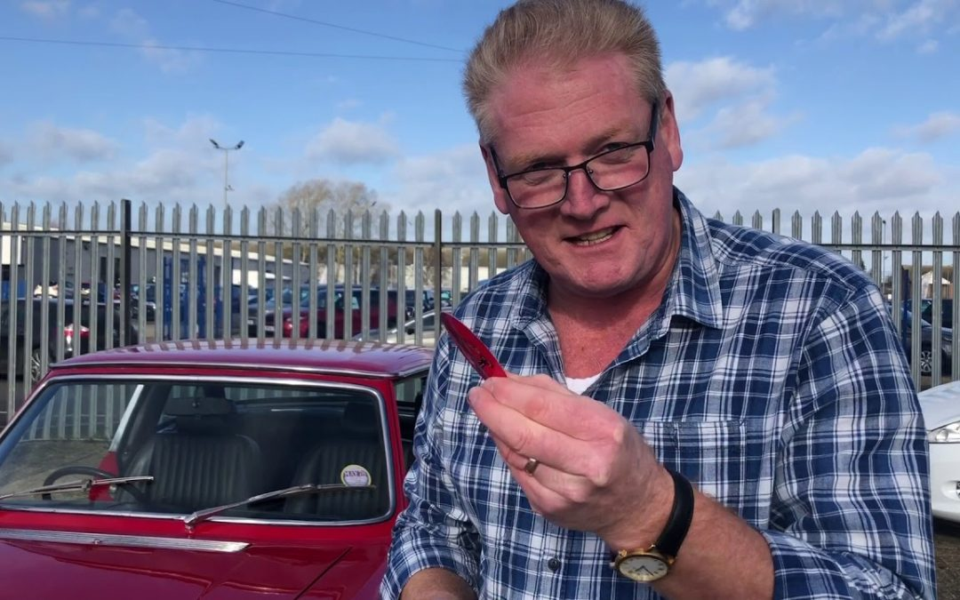 How to buy a Triumph Stag from an Auction