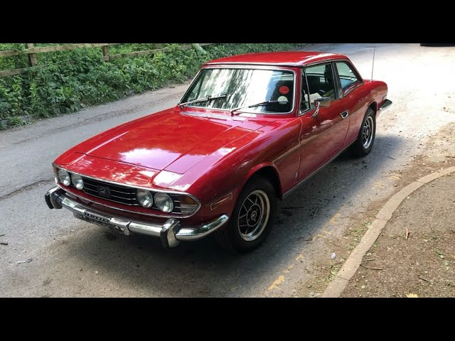 An 'Out Out' Drive in a Triumph Stag!
