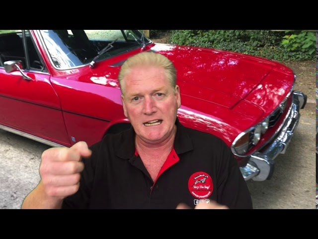 How to start a Classic Car – Triumph Stag