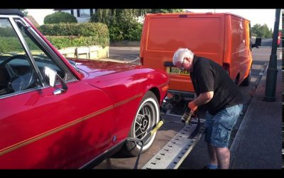 'Our Trev' & Cornwall Auto Move – Classic Car Transportation