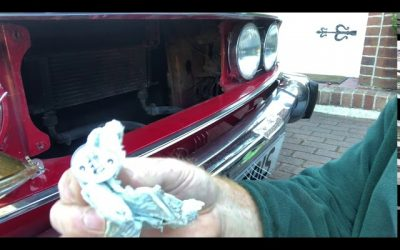Changing a Headlamp Lightbulb on a Triumph Stag!