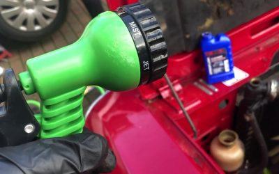 Triumph Stag Radiator Flush 3 & Saturday Sockets